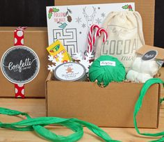 Kids Holiday Gift  Surprise Ball Goody Box by ConfettiGiftCompany