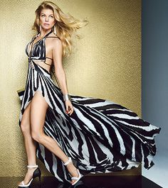 Fergie shows off her amazingly slim body in the new issue of Allure magazine, and talks about keeping both her family and her marriage strong with the help of good food and therapy!
