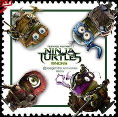 Teenage Mutant Ninja Turtles Minions