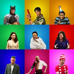 Community characters by @Kali_Story - I just love this show so much!!!