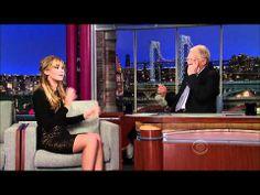 Jennifer Lawrence on David Letterman 3/20/12 (HD) - YouTube