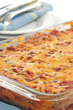 Weight Watchers Mexican Casserole Recipe - 10 Smart Points