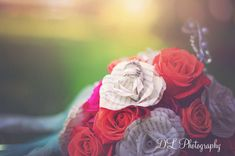 Wedding bouquet, paper flowers, Harry Potter book flowers, 85mm prime, salem photographer, wedding photographer Book Flowers, Paper Flowers, Photographer Wedding, Wedding Bouquets, Harry Potter, Rose, Plants, Photography, Pink