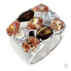 FERI- Designer rings Global Wealth Trade Corporation Visit link now, for amazing offers!  950 Siledium silver collection. Get yours today!