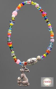 #Armband #Ostern #Osterhase #Kinder http://de.dawanda.com/shop/TANBI-kids/2686527-Osterartikel