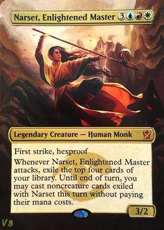 Altered Narset Enlightened Master by AlchemyLabAlters on DeviantArt