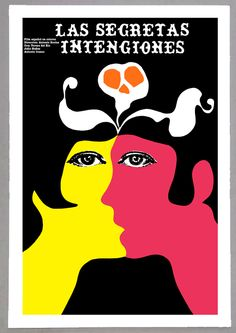 Movie Poster for cuban film CERRO Pelado.Yellow Boat.Home room art decoration