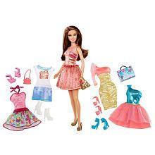 Barbie Fashions Teresa Doll Giftset