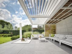 Post supported umbris louvre roof | Little Lane | UmbrisbyIQ