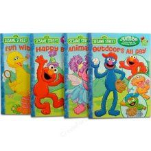 Sesame Street Coloring Book Party Favors - Cookie Monster Birthday Party Theme