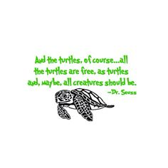Dr. Seuss, sea turtle