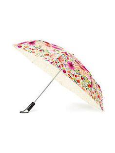 off we go dahlia travel umbrella by kate spade new york