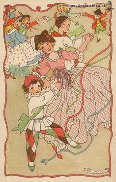 Rie Cramer-Dutch (1887-1977) postkaart                                                           lb xxx.