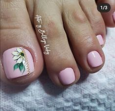 Toe Nails, Pedicure, Curly, Crochet, Toenails, Nail Ideas, Stickers, Pink, Pretty Toe Nails
