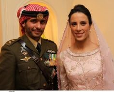 Prince Hamzah and Princess Basmah of Jordan