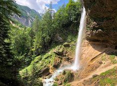 Slap Pericnik Waterfall Walk behind waterfall slovenia 4 Bohinj, Walk Behind, Les Cascades, Paragliding, Parc National, Homeland, Waterfall, Photos, Walking
