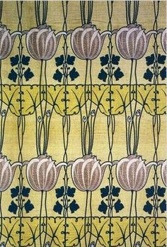 By C.F.A Voysey, a leading Art & Craft Movement designer and architect nfluenced by the Art Nouveau Movement.