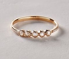 Alt rings for the non-traditional bride.
