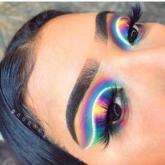Gorgeous Makeup: Tips and Tricks With Eye Makeup and Eyeshadow – Makeup Design Ideas Makeup Eye Looks, Eye Makeup Art, Cute Makeup, Eyeshadow Looks, Gorgeous Makeup, Skin Makeup, Makeup Inspo, Eyeshadow Makeup, Makeup Inspiration