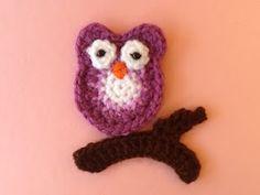 Crochet Owl - Tutorial (Spanish) ❥ 4U / /hf