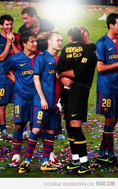 Epic Messi's reaction