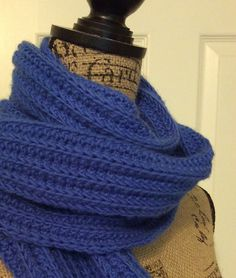 Ravelry: kentuckyknitter's Improved No-Purl Ribbed Scarf