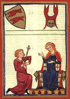 Courtly love  http://gynocentrism.files.wordpress.com/2013/11/courtly_love_3.jpg