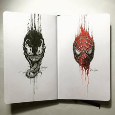 Venom vs. Spider | by Kerbyrosanes