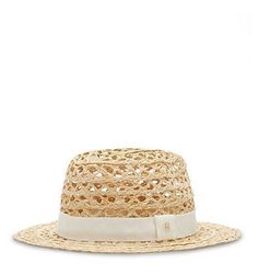 A sunny-day essential, the Tory Burch Woven Straw Hat works equally well poolside as it does in the city.