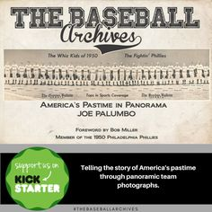 "If you can afford only one baseball history book for your library, I would recommend this one. ""The Baseball Archives: America's Pastime in Panorama by Joe Palumbo"" A vintage photo book which will contain around forty images of panoramic team photographs and stories from 1905-1950. Find out more at the link & Please consider helping and sharing! #baseball #historybooks #photobooks #vintage #photographs"