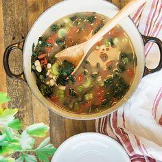 Tuscan Kale and White Bean Soup