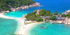 lua de mel na tailandia praia koh tao