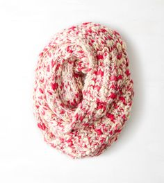 pepperminty looped knit
