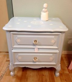 Frozen theme night stand available at House to Home Store