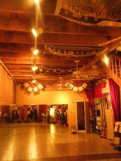 bellydance basement studio