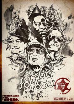 Posters Samba Soul Roots on Illustration Served