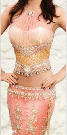 Bollywood styles dress