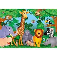 Rainforest Wall Decor | VIEW ALL