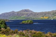 Driving along Loch Maree Scotland 5