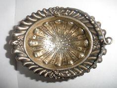 Antique Gorham Sterling Silver Tea Strainer Basket B431 #Gorham