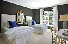 guest bedroom | Luxe Magazine