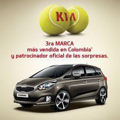 El espíritu Kia crece cada día más, somos la tercera marca más vendida en Colombia  #FabricamosSorpresas