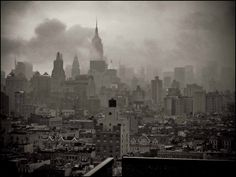 New York City in the Fog #NYC #NewYork #Manhattan