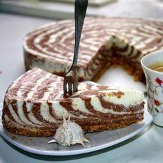Торт творожный «Мраморный»
