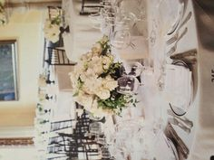 Mixed flower centerpieces - from Brides UK