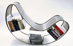 Bookshelf seat...wonder if it's comfortable