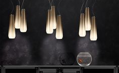 Glass Drop Suspension Lamp by Diesel Living for Foscarini - ph massimo gardone