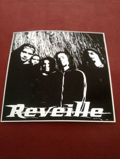 "Reveille 4""x4 "" Sticker Decal new old stock"