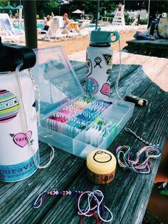 See more of livcastelli's VSCO. Summer Goals, Summer Fun, Sarah Summer, Mundo Hippie, Cute Water Bottles, Do It Yourself Jewelry, Summer Bracelets, String Bracelets, Kandi Bracelets