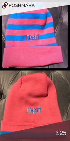 25dc74583ee 💖Nwot adorable reversible neff beanie 🏂 💖Nwot adorable reversible neff  beanie 🏂 Neff Accessories